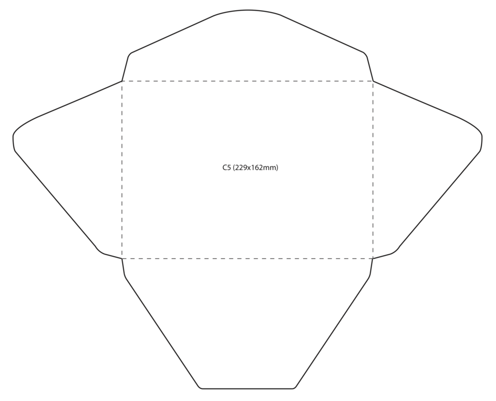 size of a2 envelope